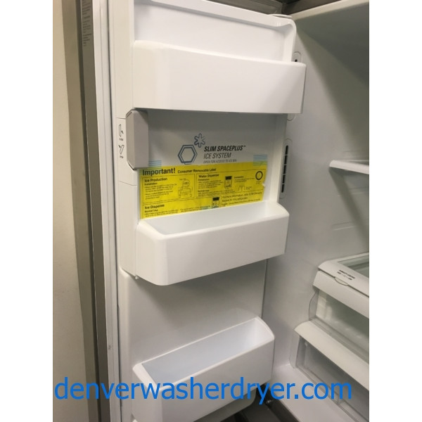 LG French Door Refrigerator, Stainless, & NEW! LG Stainless Range, GAS, Convection, & Bosch Stainless Dishwasher, 1-Year Warranty!