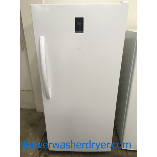NEW! Insignia Convertible Freezer/Refrigerator, White, 61″ Tall, 1-Year Warranty!