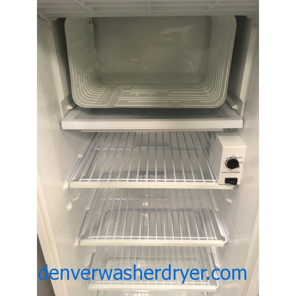 Great Kenmore Refrigerator, 5.8 Cu. Ft. White, 21″ Wide by 53″ Tall, Quality Refurbished, 1-Year Warranty!