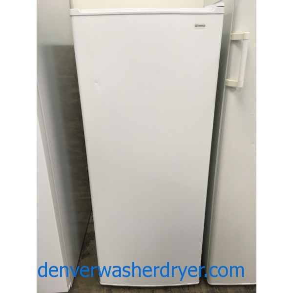 Great Kenmore Freezer, White, 53″ Tall, Quality Refurbished, 1-Year Warranty!