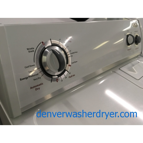 Whirlpool Dryer, 220V, 29″ Wide, 6.5 Cu. Ft. Capacity, Quality Refurbished, 1-Year Warranty!