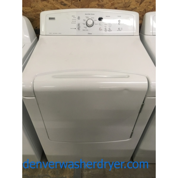 Mighty Kenmore ELITE Oasis Dryer, Capacity 7.3 Cu.Ft., 29″ Wide, 220V, Quality Refurbished, 1-Year Warranty!