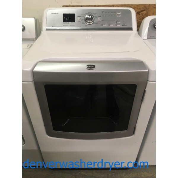 Marvelous Maytag Bravos Dryer, Electric, HE, Steam, Sanitary, Quality Refurbished, 1-Year Warranty!