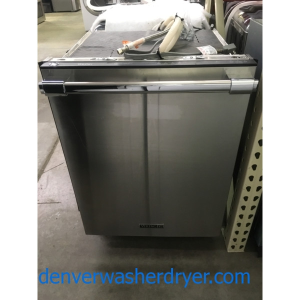Great VIKING Dishwasher, Stainless, Energy-Star Rated, Sanitize Feature, Quality Refurbished, 1-Year Warranty!