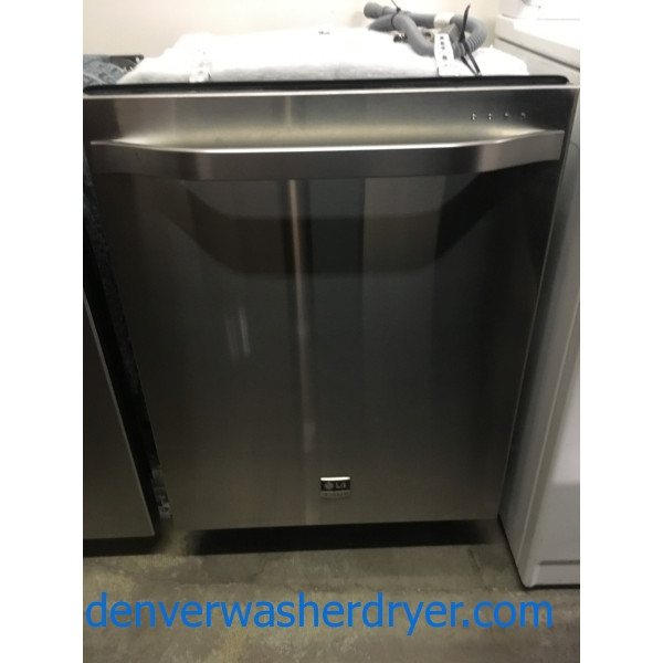 Awesome LG Studio Dishwasher, Stainless, Built-IN, Quiet, 3rd Rack, Quality Refurbished, 1-Year Warranty!