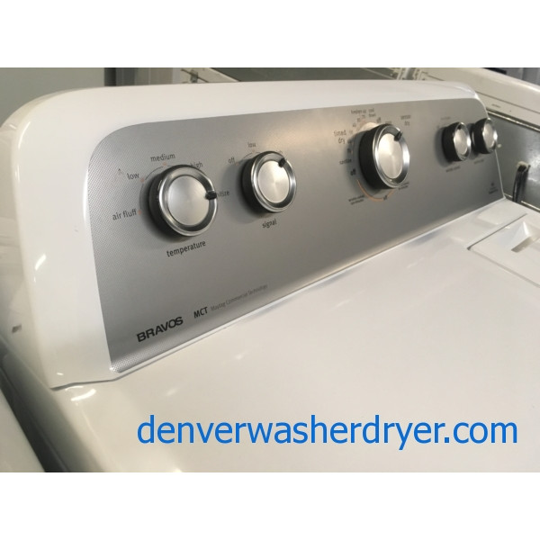 Lightly Used! Maytag MCT Dryer, Heavy-Duty, Sanitize Feature, Wrinkle Control, Quality Refurbished, 1-Year Warranty!