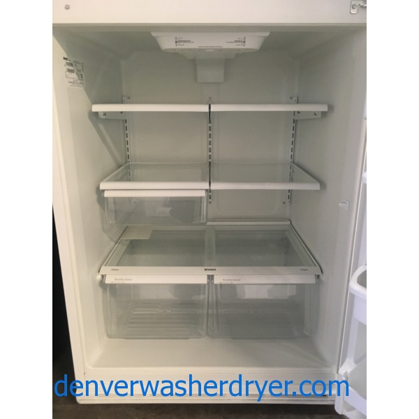 Awesome Kenmore Refrigerator, White, Top-Mount, Capacity 20.5 Cu.Ft., Quality Refurbished, 1-Year Warranty!