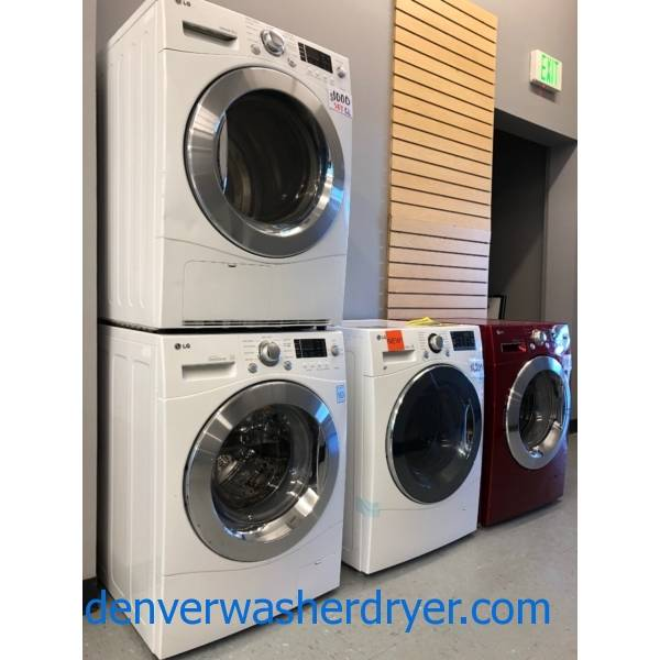 Small Laundry, 24″ Wide, Compact Washers and Dryers, 110V, Ventless, All-In-One, Combo, Warrantied!