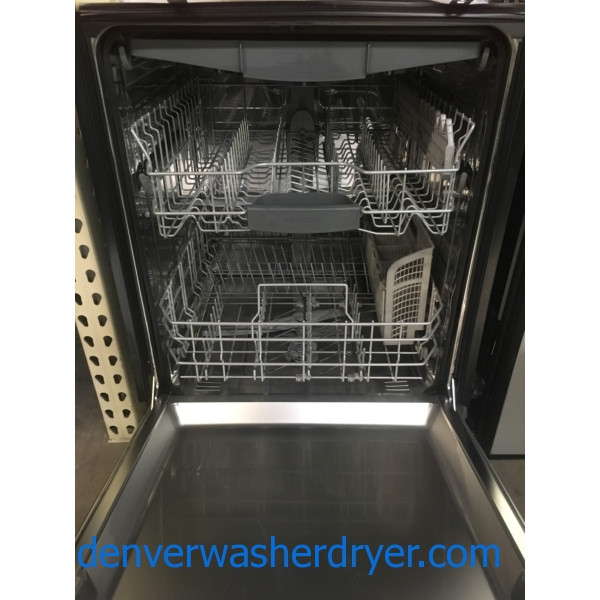NEW!! Bosch Dishwasher, Built-In, Recessed Handle, Stainless, Sensor Wash, Sanitize, 3 Racks, 1-Year Warranty!
