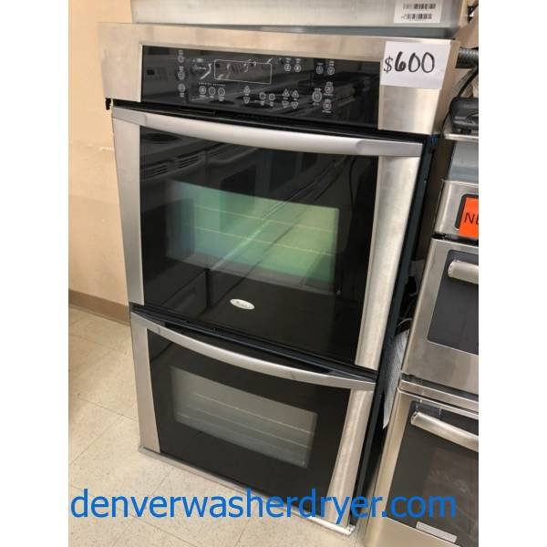 Built-In Wall Oven, 24″, 27″, 30″, Single Oven, Double Oven, Microwave Combo, New and Used, With Warranty!