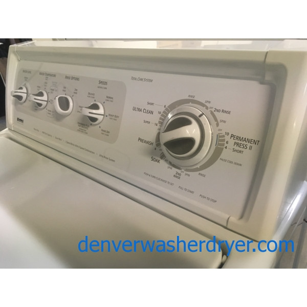 Kenmore ELITE Washer, Agitator, Heavy-Duty, Capacity 3.2 Cu.Ft., Extra Rinse Option, Quality Refurbished, 1-Year Warranty!