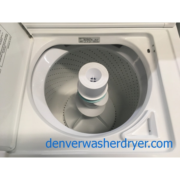 Awesome Kenmore 90 Series Washer and Dryer, Agitator, 27″ Wide, 220V, Capacity 7.0 Cu.Ft., Quality Refurbished, 1-Year Warranty!