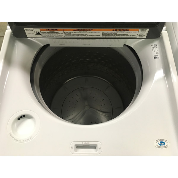 Awesome Maytag Bravos XL Washer, Glass Lid, HE, Sanitize Cycle, Wash-Plate Style, Quality Refurbished, 1-Year Warranty!