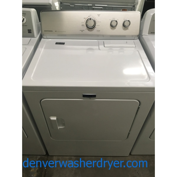 Great Maytag MCT Dryer, 220V, 29″ Wide, Wrinkle Control Option, Capacity 7.0 Cu.Ft., Quality Refurbished, 1-Year Warranty!