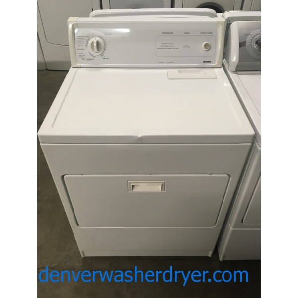 Great Kenmore Dryer, Auto Dry, Wrinkle Prevent Option, Heavy-Duty, Capacity 7.0 Cu.Ft., Quality Refurbished, 1-Year Warranty!