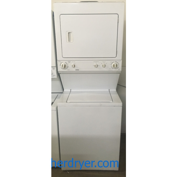 Kenmore Unitized Set, Heavy-Duty, Agitator, 27″ Wide, 220V, Quality Refurbished, 1-Year Warranty!