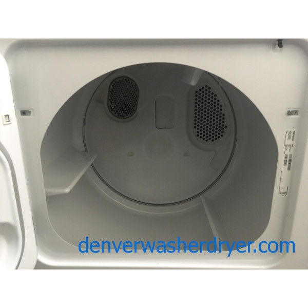 Great Roper by Whirlpool Dryer, 220V, 29″ Wide, Capacity 7.0 Cu.Ft., Wrinkle Prevent Option, Quality Refurbished, 1-Year Warranty!