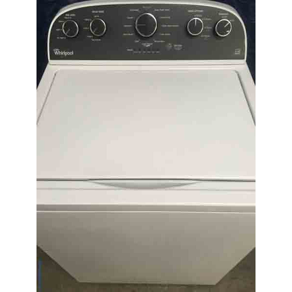 Modern Whirlpool Washer, Energy Star, with 6-Month Warranty