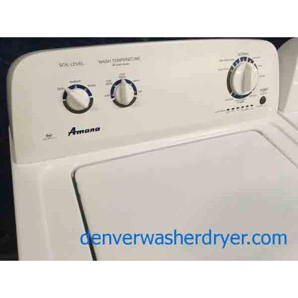 Amana Dryer - AmanaMaytag WasherDryer Set HE Super Capacity ... on