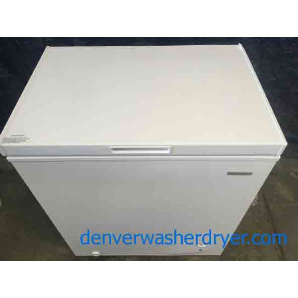 New Incredible Insignia 5 Cubic Foot Chest Freezer Scratch-and-Dent Special