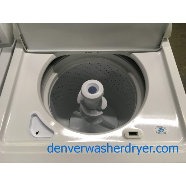 Newer Whirlpool Washer, HE, Agitator, Auto-Load Sensing, Capacity 3.4 Cu.Ft., Extra-Rinse Option, Quality Refurbished, 1-Year Warranty!