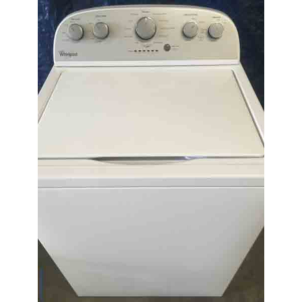 Single Whirlpool Washer with 6-Month Warranty