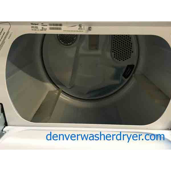 Whirlpool Direct-Drive Washer Dryer Set, Electric, Fully-Featured, Quality Refurbished Appliances