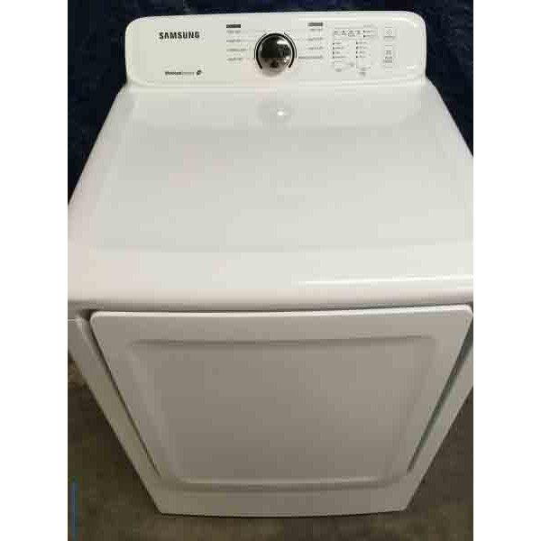 Used Electric Samsung Dryer, Electric, 7.3 Cu. Ft