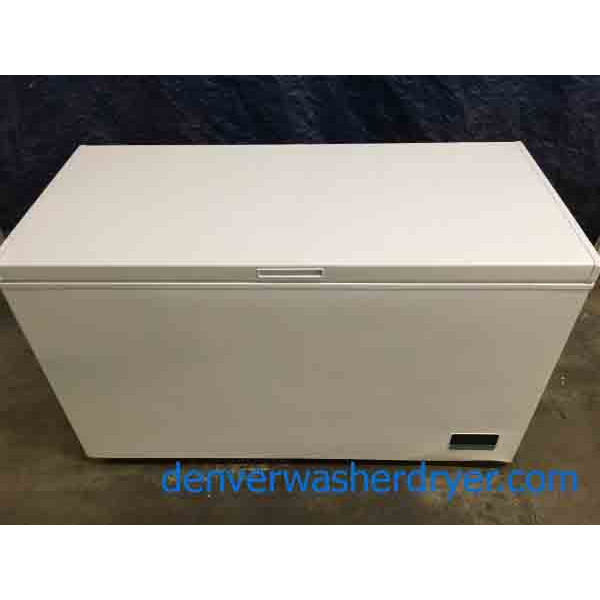 New 14 CU. FT. Chest Freezer with Built-in Wi-Fi Connectivity!