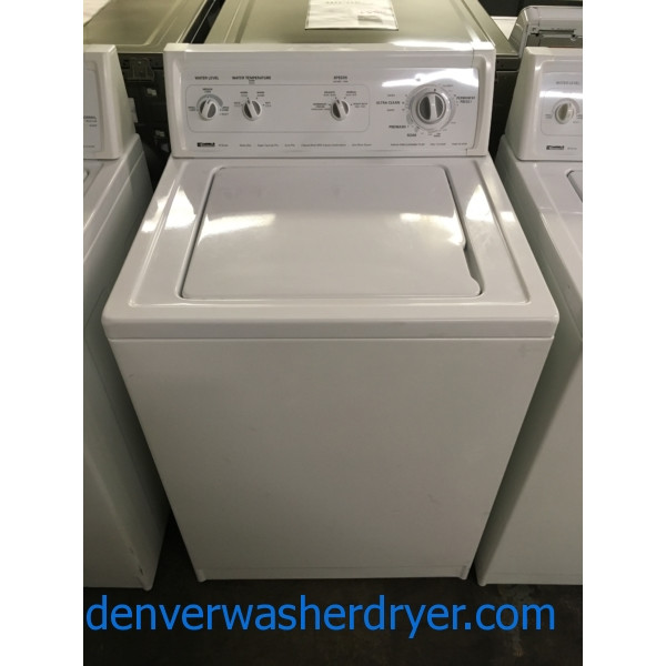 Kenmore 70 Series Washer, Heavy-Duty, Agitator, 3.2 Cu.Ft. Capacity, Ultra Rinse System, Quality Refurbished, 1-Year Warranty!