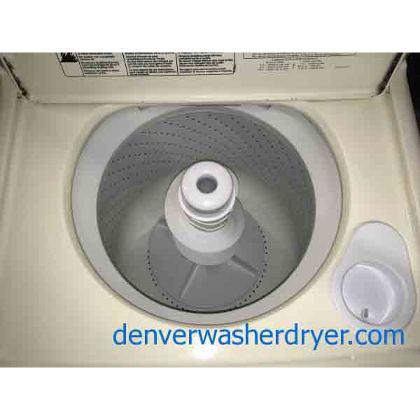 Single Bisque Kenmore Elite Direct-Drive Washer with 1-Year Warranty!