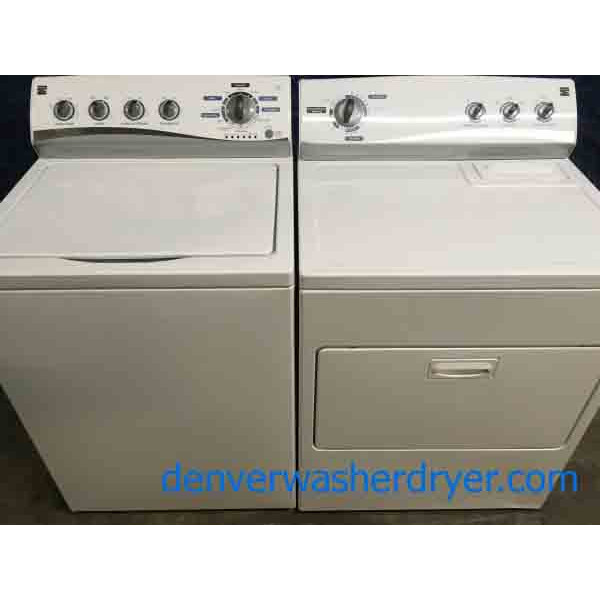 Modern Kenmore Washer and Dryer Set
