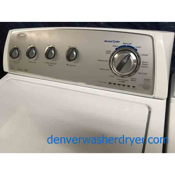 Whirlpool GAS Washer dryer set. High . 1Year Warranty