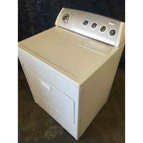 Wondrous Whirlpool Dryer with 1 year warranty