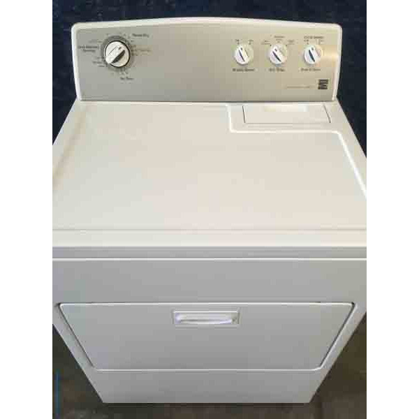 Kenmore 500 dryer with 1 year warranty