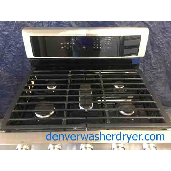 Brand-New Whirlpool Gold Series, Double Oven, Stainless Range, 1-Year Warranty