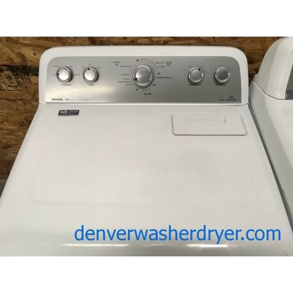 Maytag Bravos MCT Dryer, Steam Fresh, 29″ Wide, 220V, Wrinkle Prevent Option, 7.0 Cu.Ft. Capacity, Quality Refurbished, 1-Year Warranty!