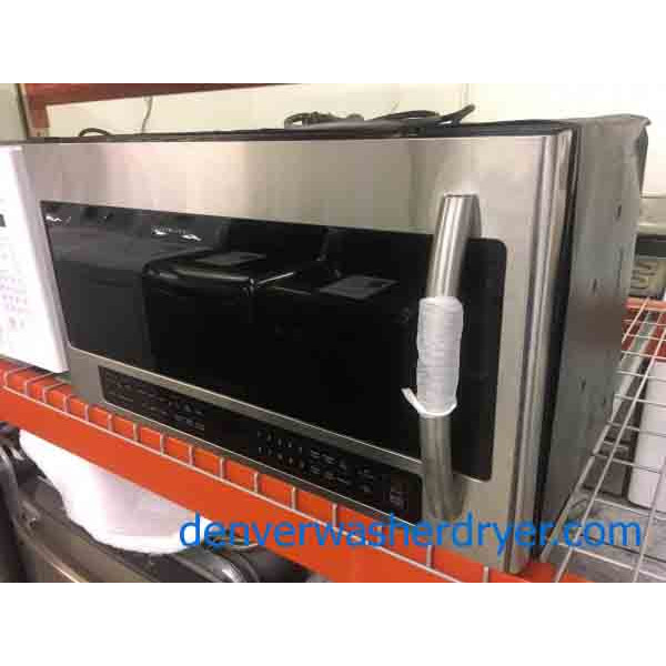 New! Stainless, Bottom Control, Stainless Samsung Microwave