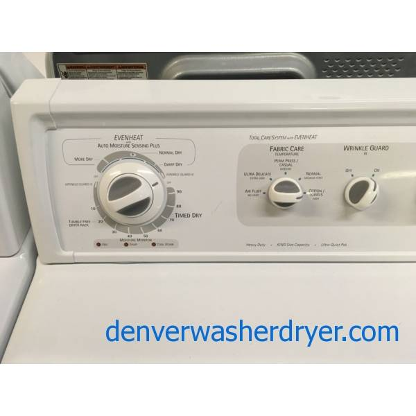 Heavy Duty Kenmore Elite Washer And Dryer Set Agitator