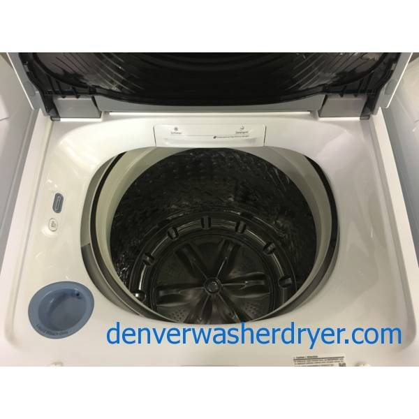 NEW! SAMSUNG Top-Load Washer, HE, 5.2 Cu.Ft. Capacity, Built-In Sink, EcoPlus, Waterproof and Activewear Cycles, 2-Year Warranty!