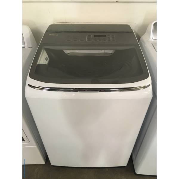 NEW! SAMSUNG Top-Load Washer, HE, 5.2 Cu.Ft. Capacity, Built-In Sink, EcoPlus, Waterproof and Activewear Cycles, 1-Year Warranty!