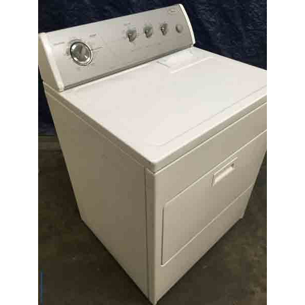 Electric Whirlpool Dryer, 29″ Wide, Quality Refurbished, 1-Year Warranty!