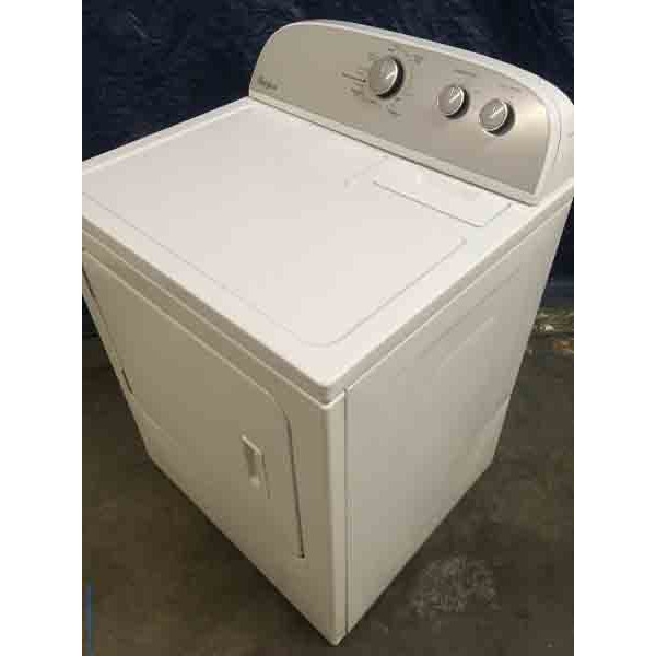 Whirlpool Direct-Drive Washer And Electric Dryer, 29″ Wide, Like-New! 1-Year Warranty!