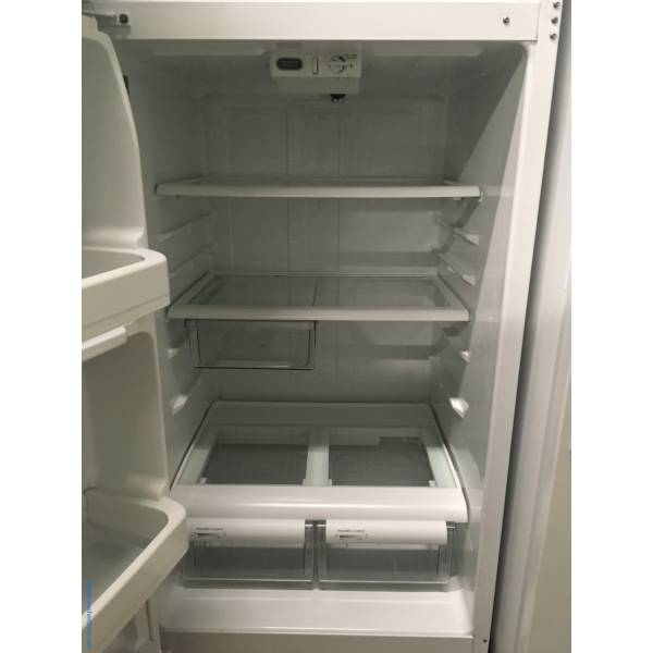 GE White Top-Mount Refrigerator, Hotpoint White Top-Mount Refrigerator, 1-Year Warranty