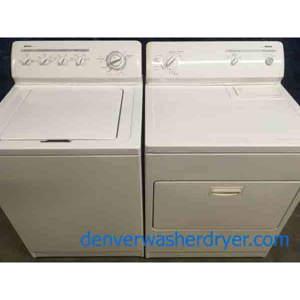 Solid Kenmore Direct-Drive Washer, Electric Dryer, Heavy-Duty, Quality Refurbished!