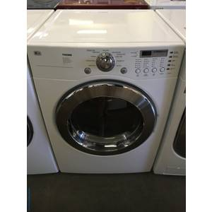 LG Front-Load Dryer, White, 7.3 Cu.Ft. Capacity, Sensor Dry, Anti-Bacterial and Wrinkle Care Options, Quality Refurbished, 1-Year Warranty!