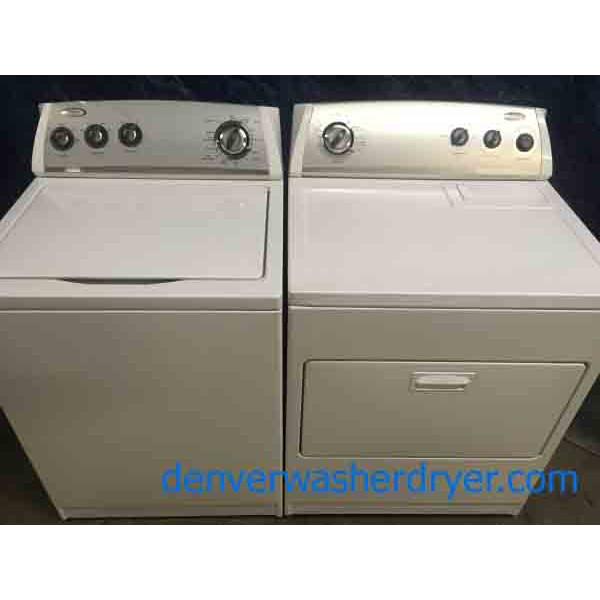 Whirlpool Washer/Dryer, Direct Drive, Fully Featured, Quality Refurbished