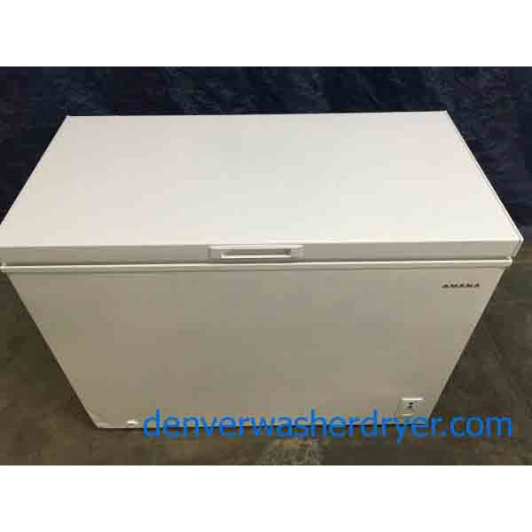 Brand New Scratch Amp Dent 9 Cu Ft Chest Freezer By Amana