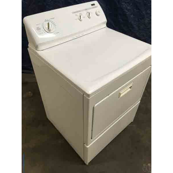 Single Kenmore Elite Electric Dryer, 7.5 Cu. Ft., Quality Refurbished, 1-Year Warranty!