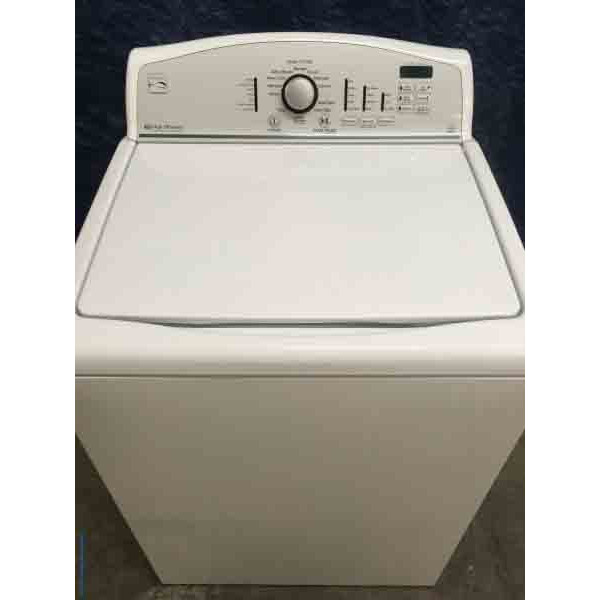 Single Kenmore Top Load Washer High Efficiency And